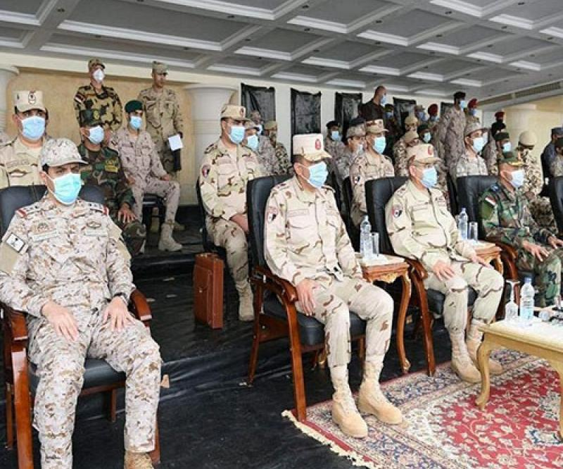 Saudi Armed Forces Participate in Joint Arab Drill in Egypt