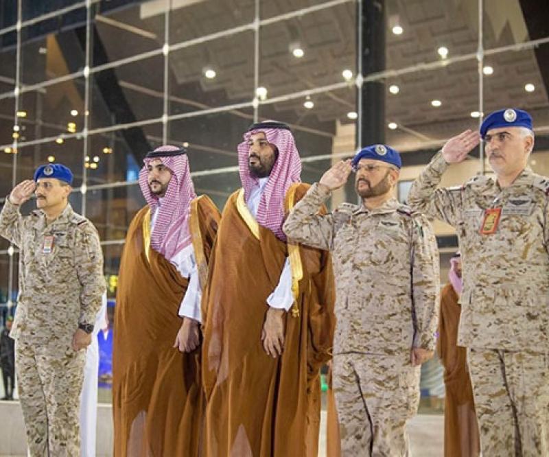 Saudi Crown Prince Patronizes Graduation Ceremony at King Faisal Air College