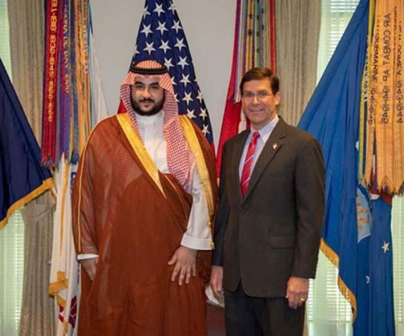 Saudi Deputy Defense Minister Visits USA, UK