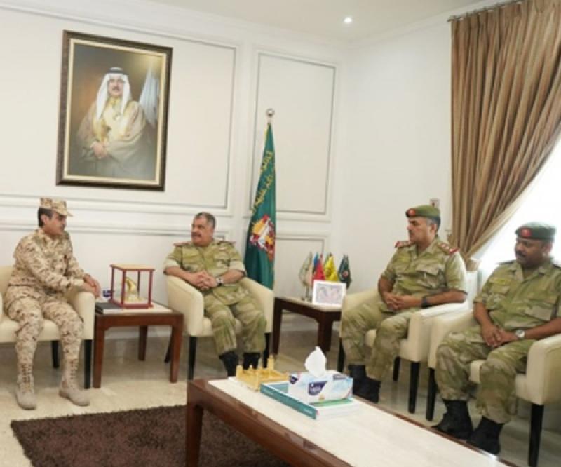 Saudi National Guard Ministry Delegation Visits Bahrain