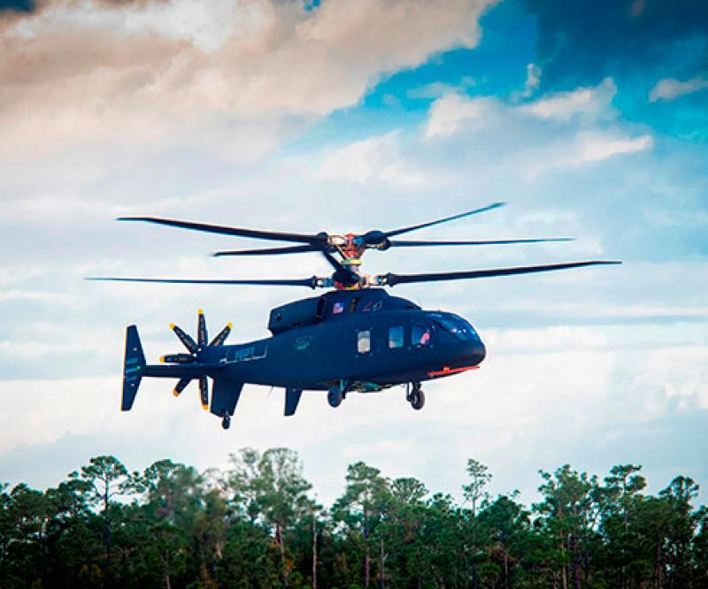 Sikorsky-Boeing SB>1 DEFIANT Helicopter Makes First Flight