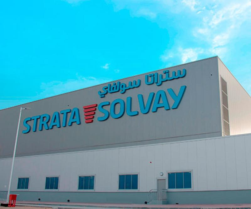 Strata Solvay Joint Venture Facility Launched in UAE