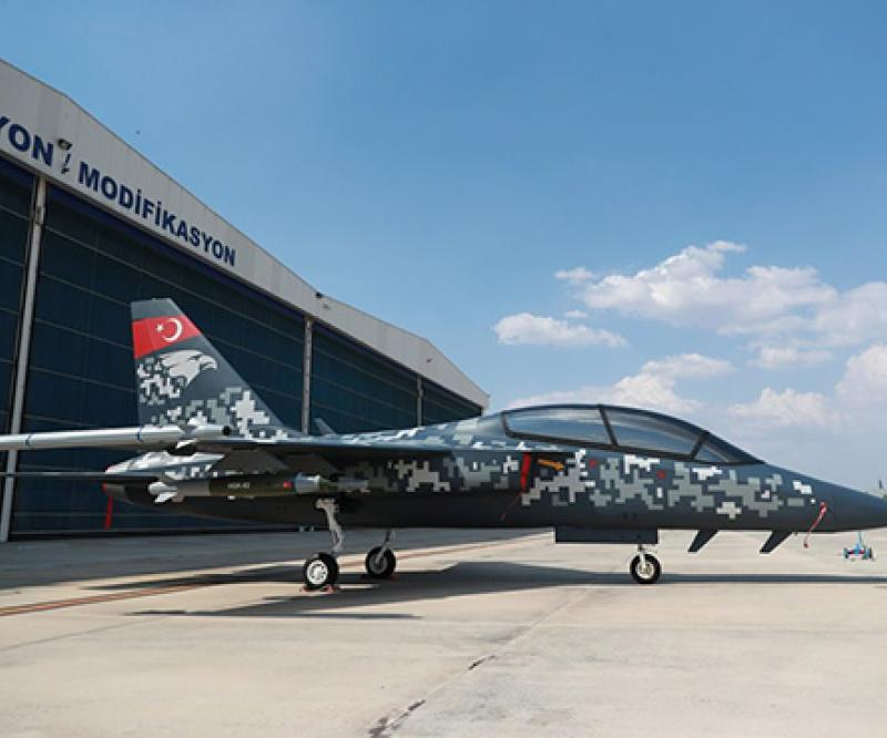 TAI Unveils New Hurjet Light Attack Aircraft