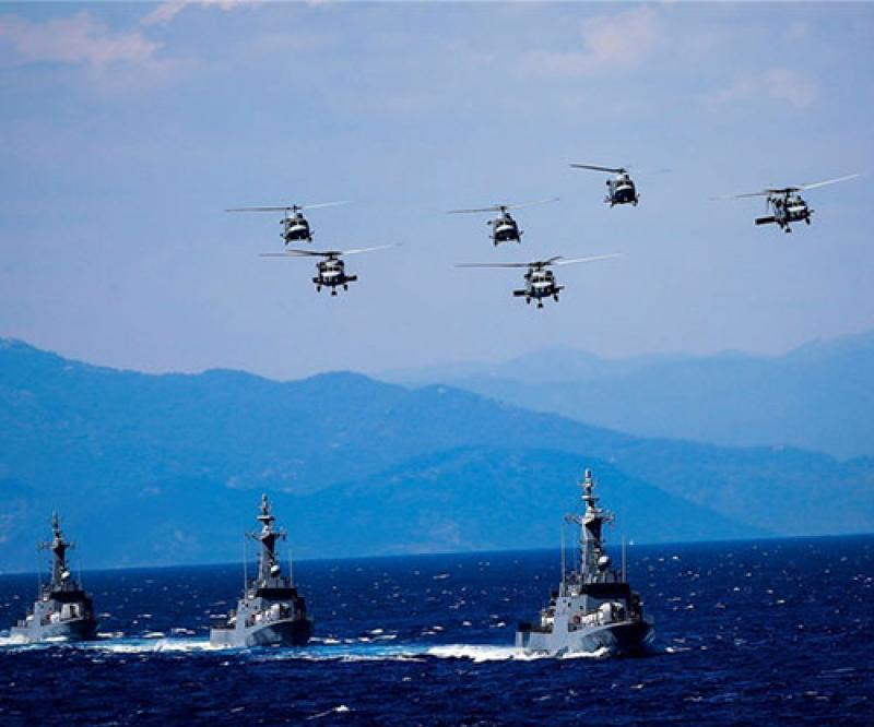 Turkish Naval Forces Kick Off Sea Wolf 2019 Exercise