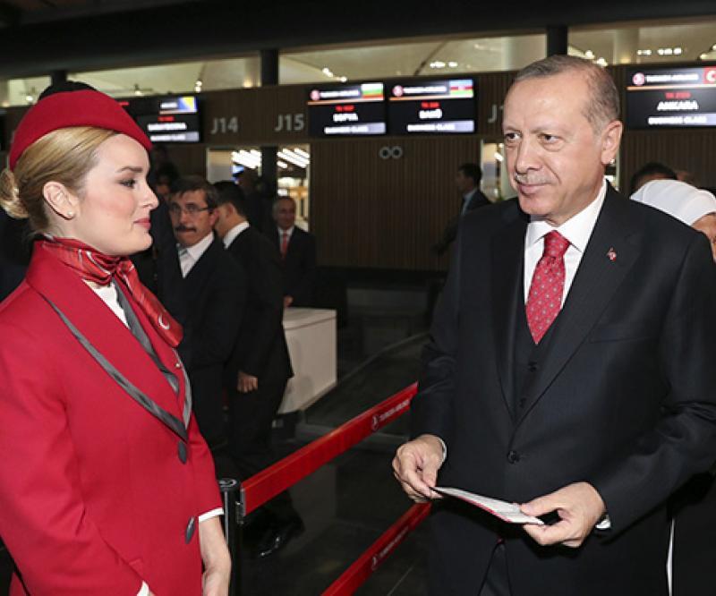 Turkish President Inaugurates New Istanbul Airport