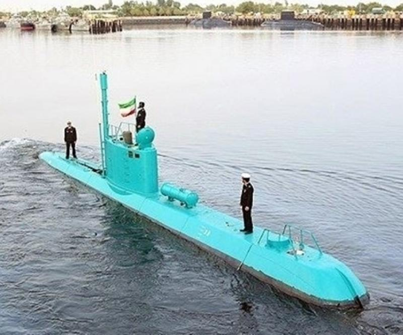 Two Qadir-Class Submarines Join Iranian Navy
