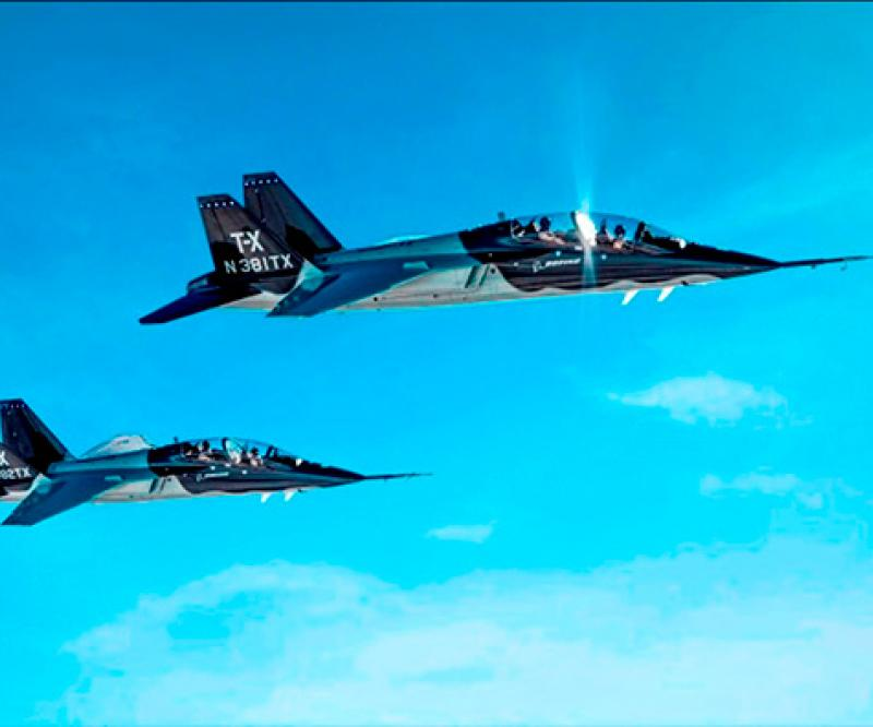 U.S. Air Force Selects Boeing and Saab T-X Trainer