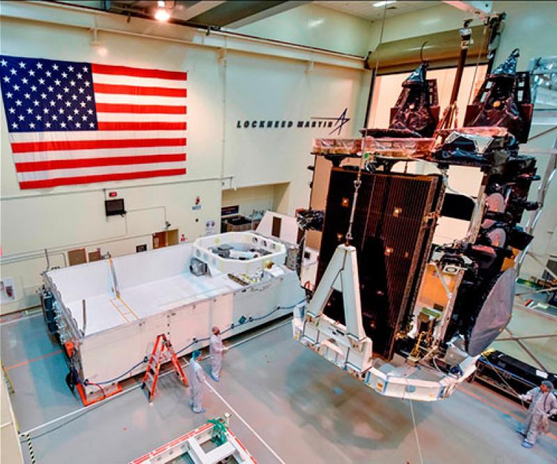 U.S. Air Force to Launch 5th Lockheed Martin-Built AEHF Satellite in June