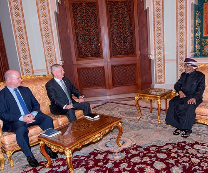 U.S. Defense Secretary Visits Oman, Bahrain