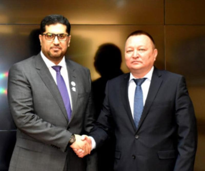 UAE, Kazakhstan Review Military Relations