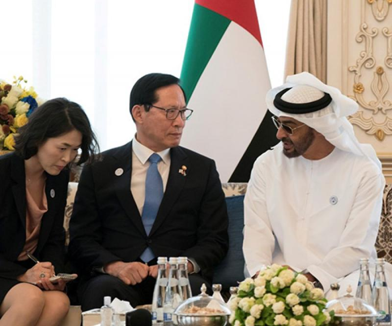 UAE, South Korea Discuss Defense, Military Ties