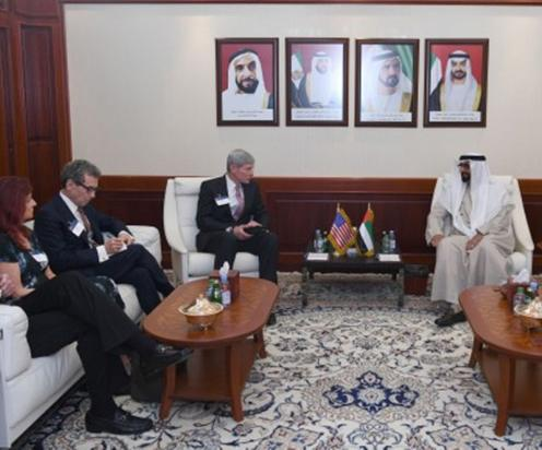 UAE Minister of State for Defense Affairs Receives US Delegation