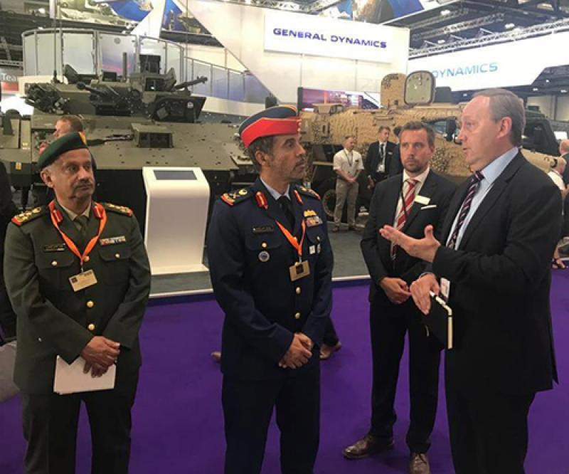 UAE Ministry of Defense, Armed Forces Participate at DSEI 2019