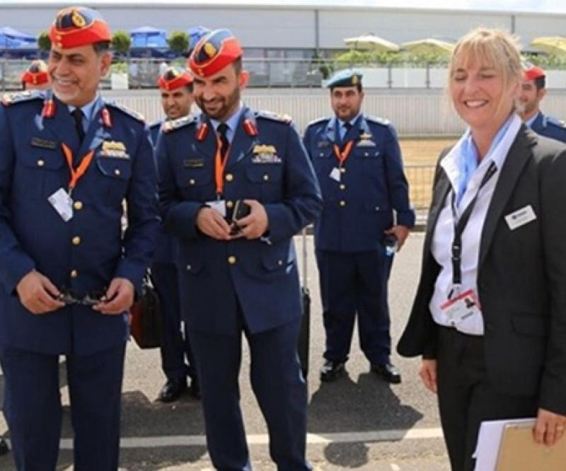 UAE Ministry of Defense Delegation Visits Farnborough Airshow