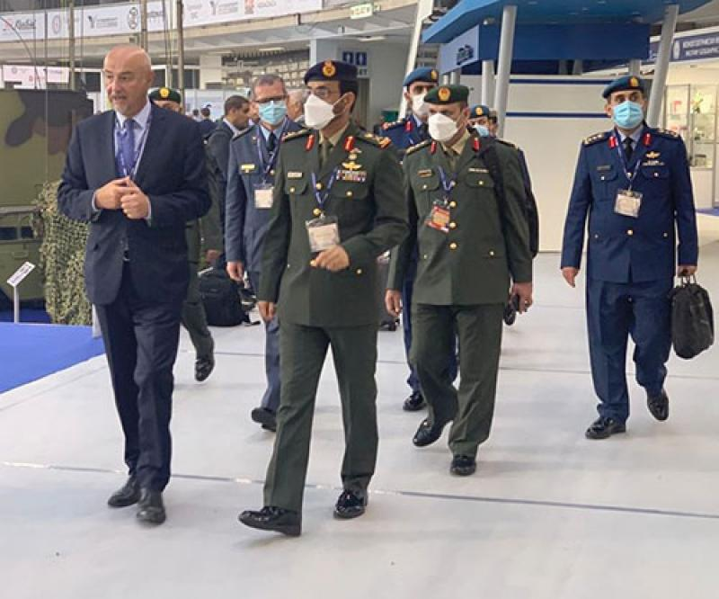 UAE Ministry of Defense Participates in 'International Armament & Military Equipment Fair' in Serbia