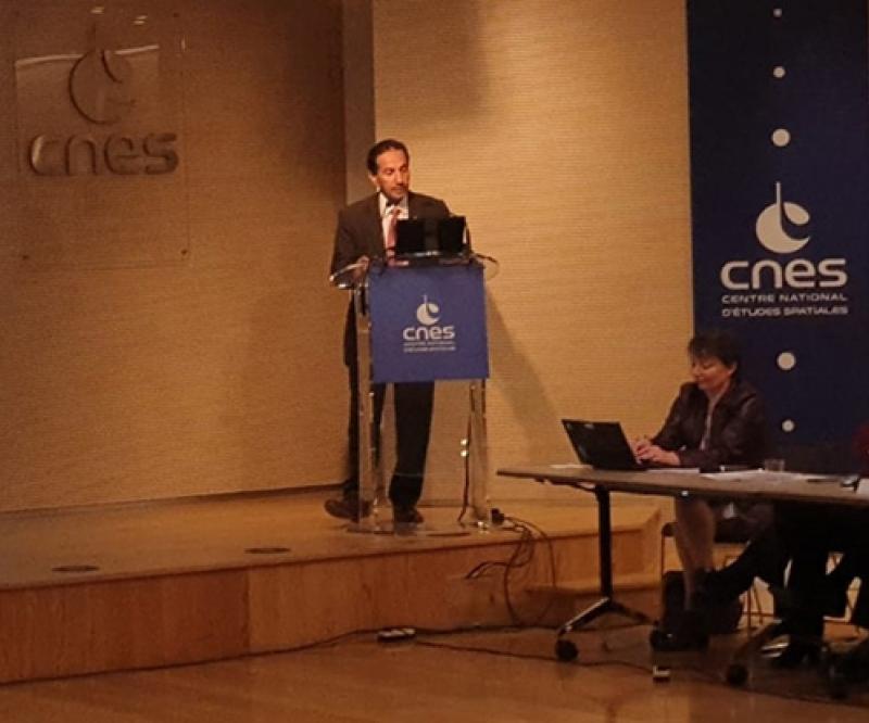 UAE Space Agency Joins International Meetings at CNES