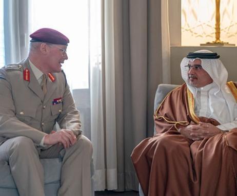 UK's Defense Senior Advisor to Middle East Visits Bahrain