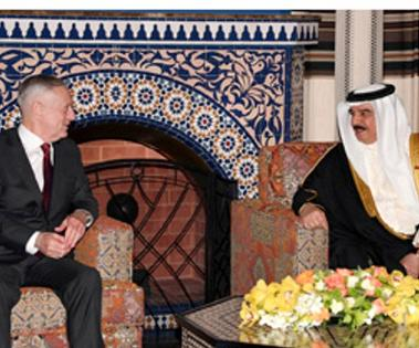 US Defense Secretary Receives Royal Treat in Bahrain