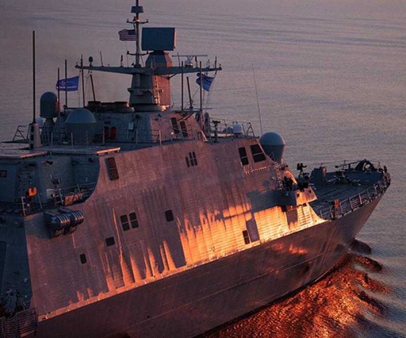 US Navy Littoral Combat Ships Operate HENSOLDT's Naval Radars