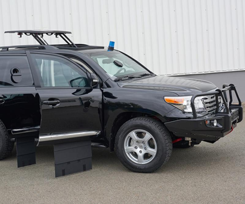 Welp's Tactical, Armored SUVs for Special Operations