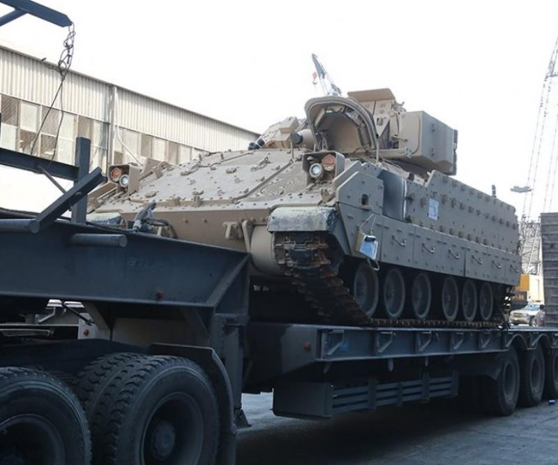 Lebanon Receives Final Batch of M2A2 Bradley Fighting Vehicles