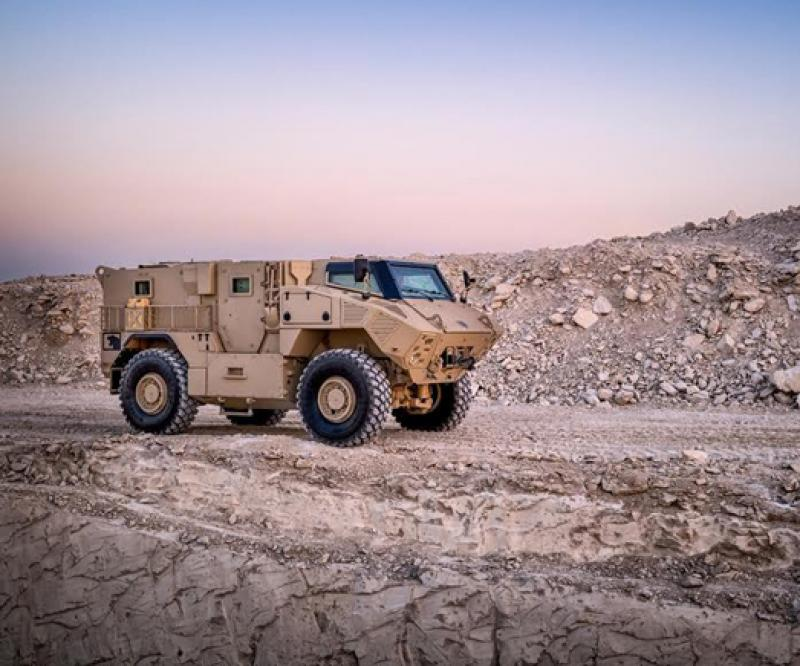 New NIMR Military Vehicles Enter Service in UAE