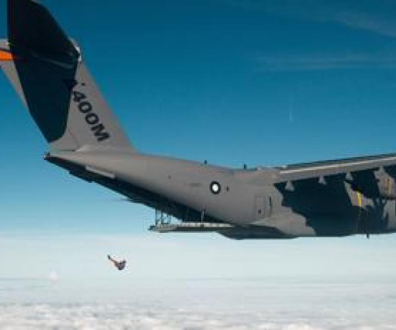 A400M Can Carry Up to 116 Troops