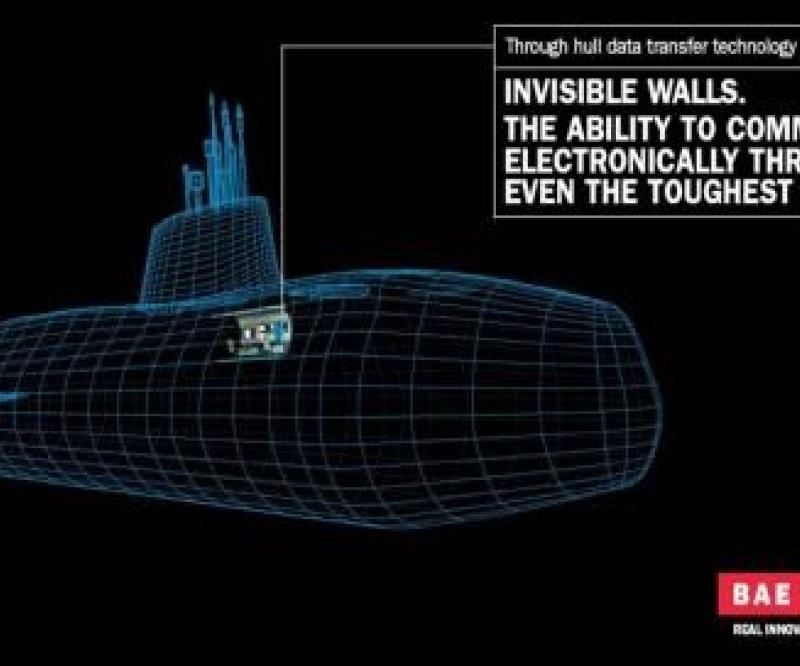 BAE Systems: Wireless Data through Solid Steel