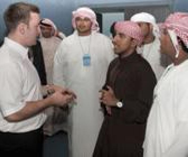 BAE Briefs UAE Students on UAVs