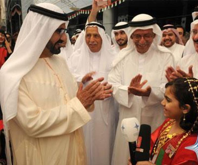 Sheikh Mohammed Attends National Day Celebrations