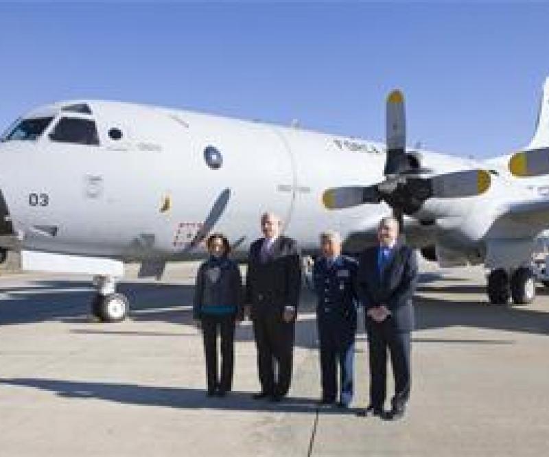 Brazilian Defense Minister Views Modernized P-3 Orion