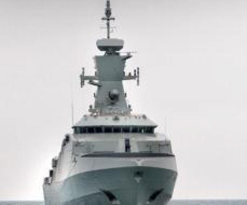 First Sea Trials for Omani Corvette