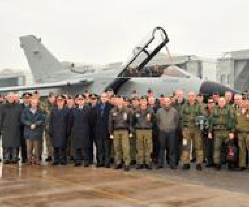 Delivery of Tornado IS 86 to Italian Air Force