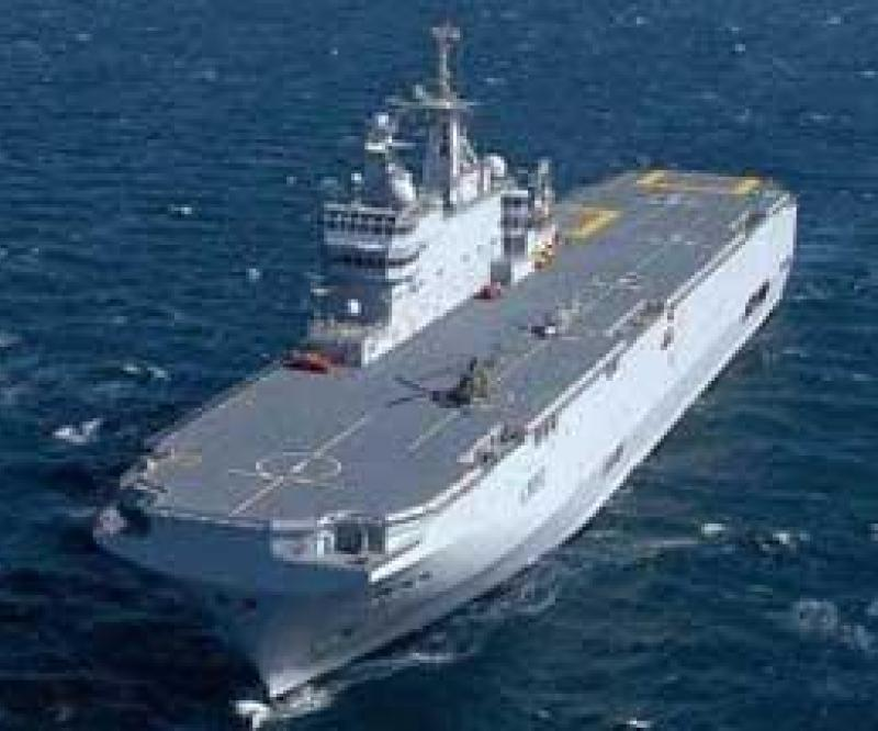 France to Build 2 Naval Command Ships with Russia