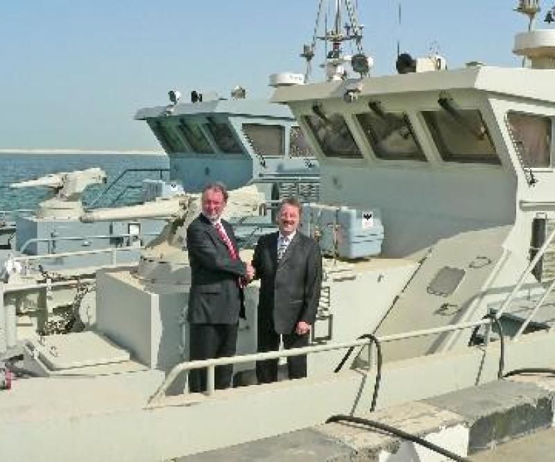Gulf Logistics and Naval Support is a joint venture between Abu Dhabi Ship Building and BVT Surface Fleet