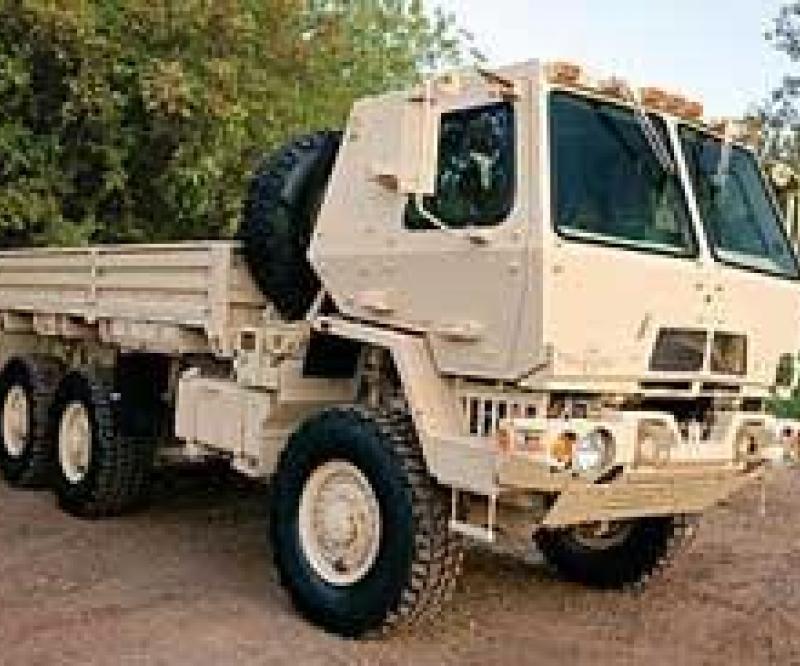First Oshkosh FMTV to Wisconsin National Guard
