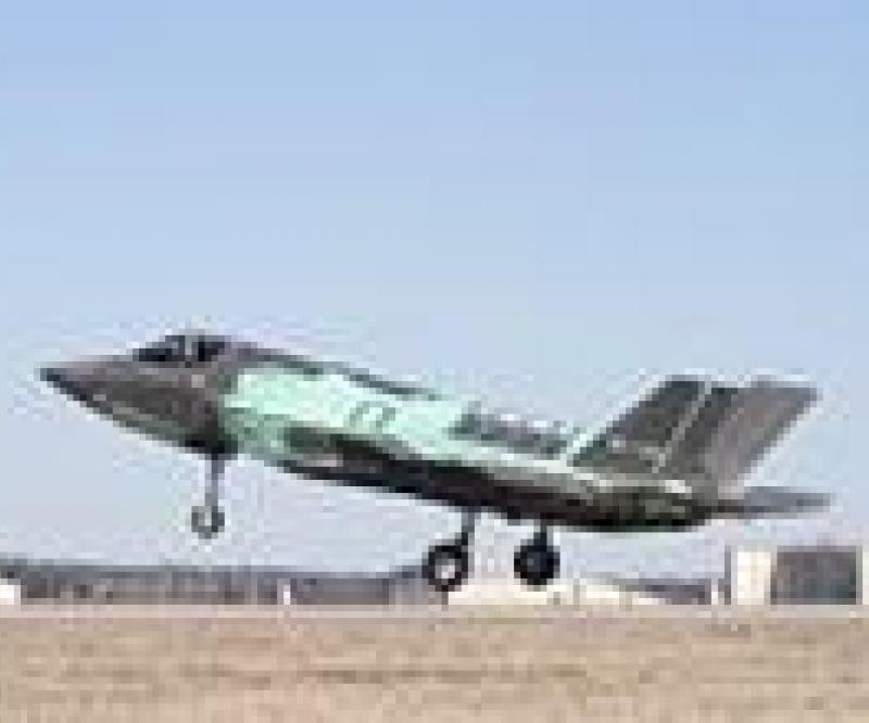 Last F-35B STOVL Test Jet Takes Flight