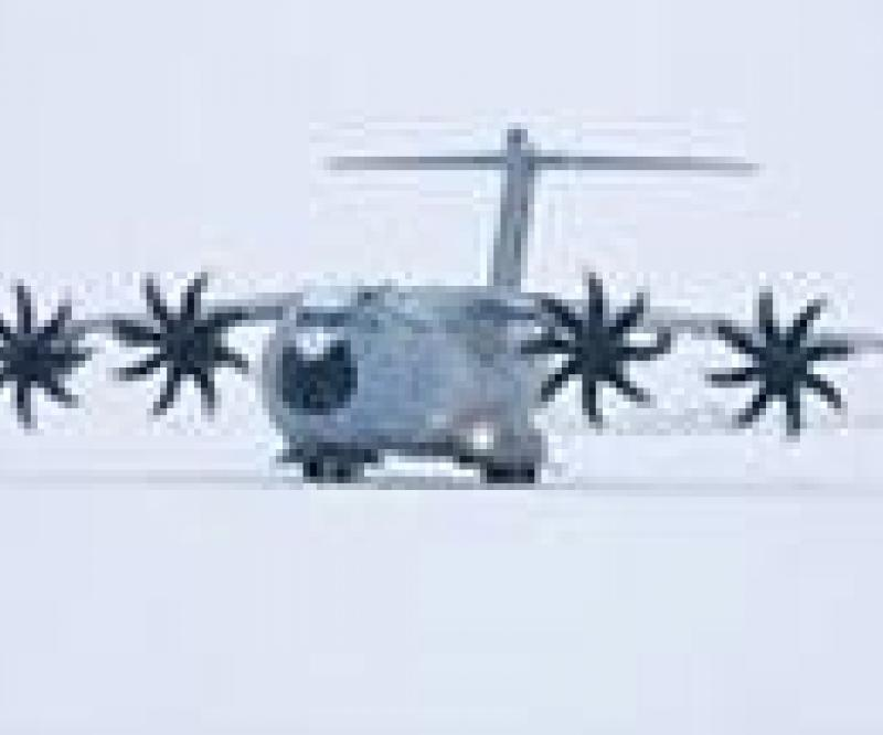 Cold Weather Trials for Airbus Military's A400M