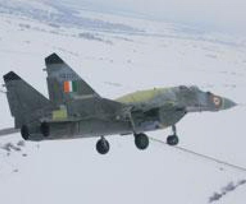 Maiden Flight for India's Upgraded MiG-29