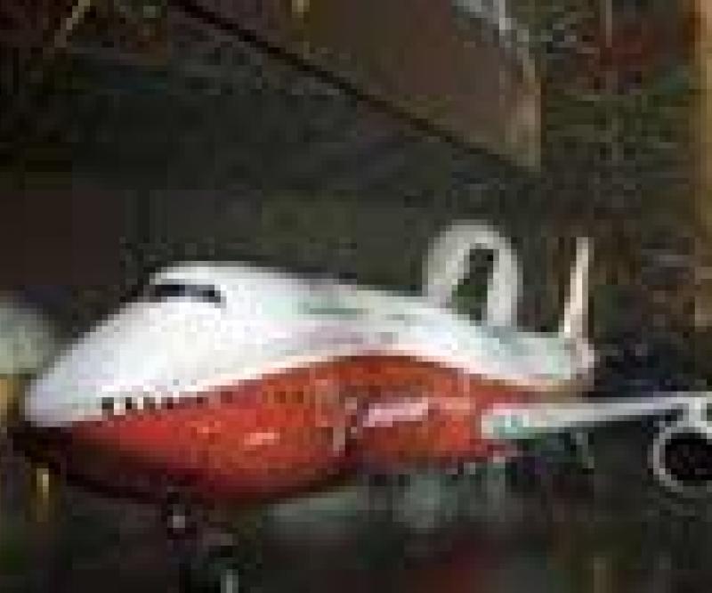 Boeing Unveils its New 747-8 Intercontinental