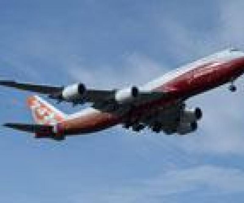 1st Flight for Boeing 747-8 Intercontinental