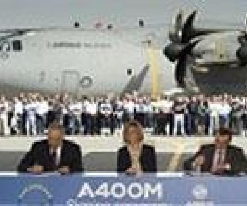 A400M Contract Amendment Signed