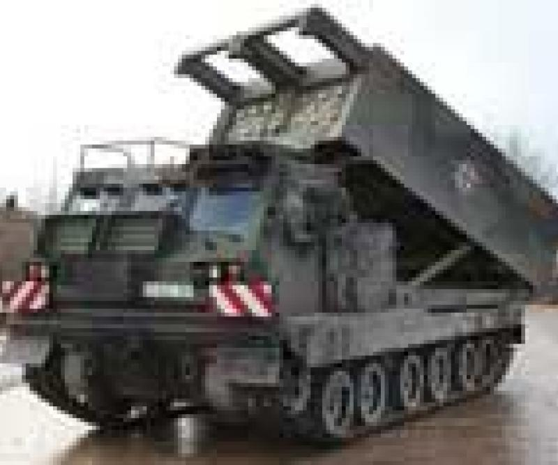 KMW Delivers 1st Rocket Launcher MARS II