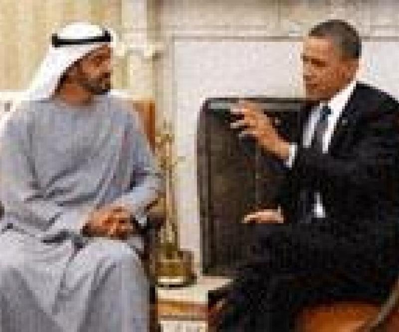 HH Mohammed Bin Zayed Meets Obama in Washington