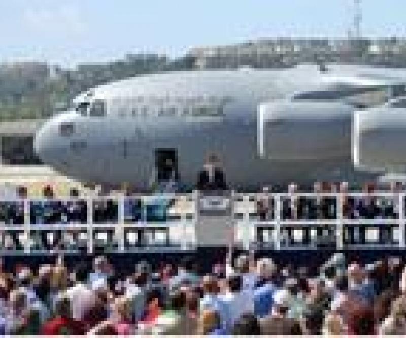 1st UAE C-17 Globemaster III Powered by Pratt&Whitney