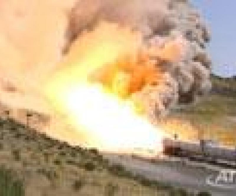 ATK Tests Next-Generation Solid Rocket Motor