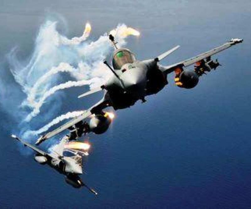 Two Rafale jets crash in Mediterranean