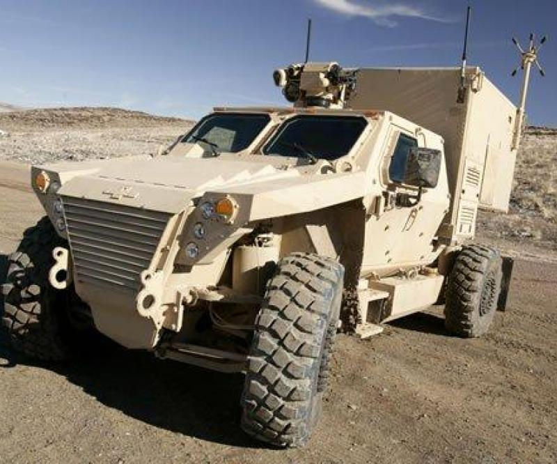 Oshkosh Defense to supply TAK-4 Independent Suspension for MRAPs