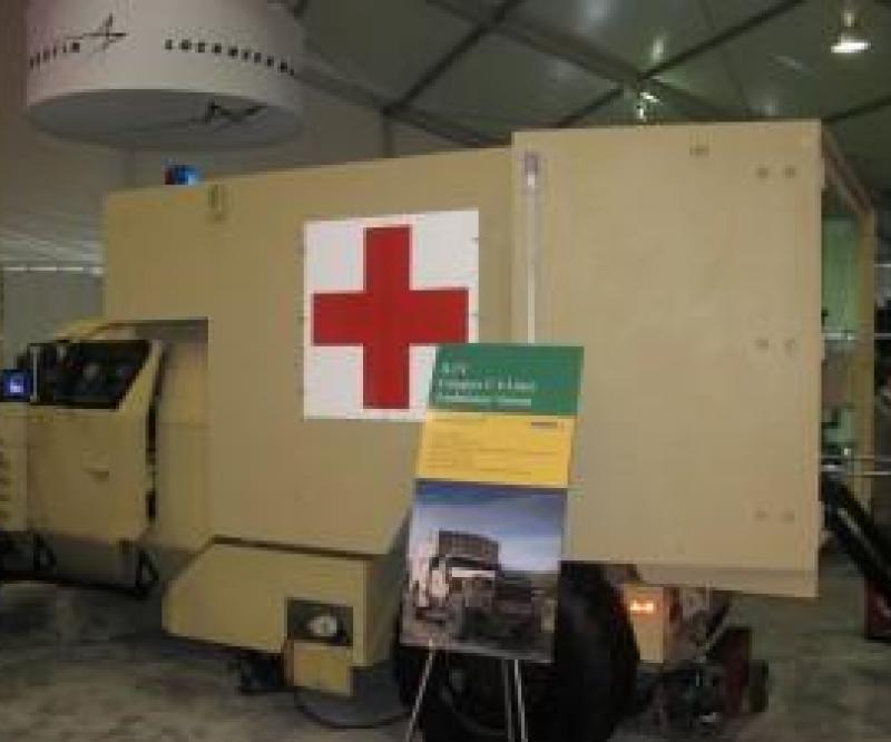 Lockheed Reveals JLTV Ambulance