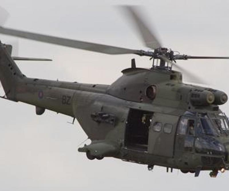 Puma Life Extension Program for the UK Royal Air Force